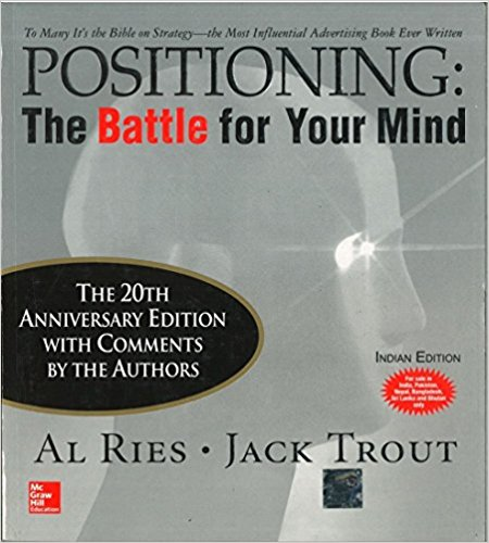 positioning in marketing book