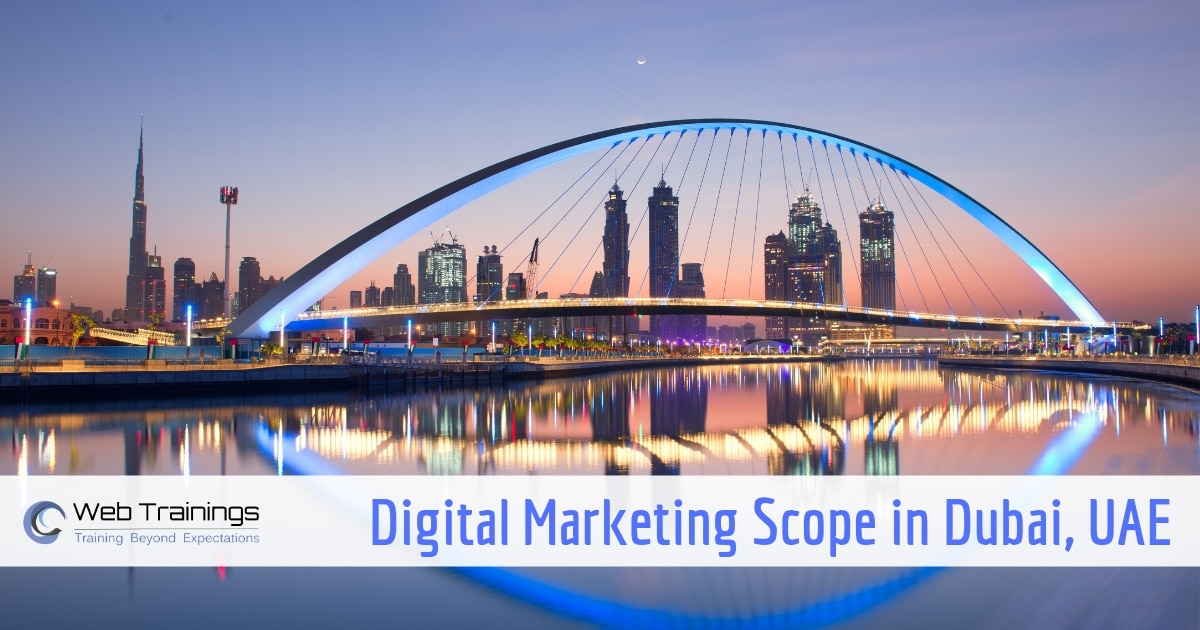 Scope of Digital Marketing in Dubai, UAE