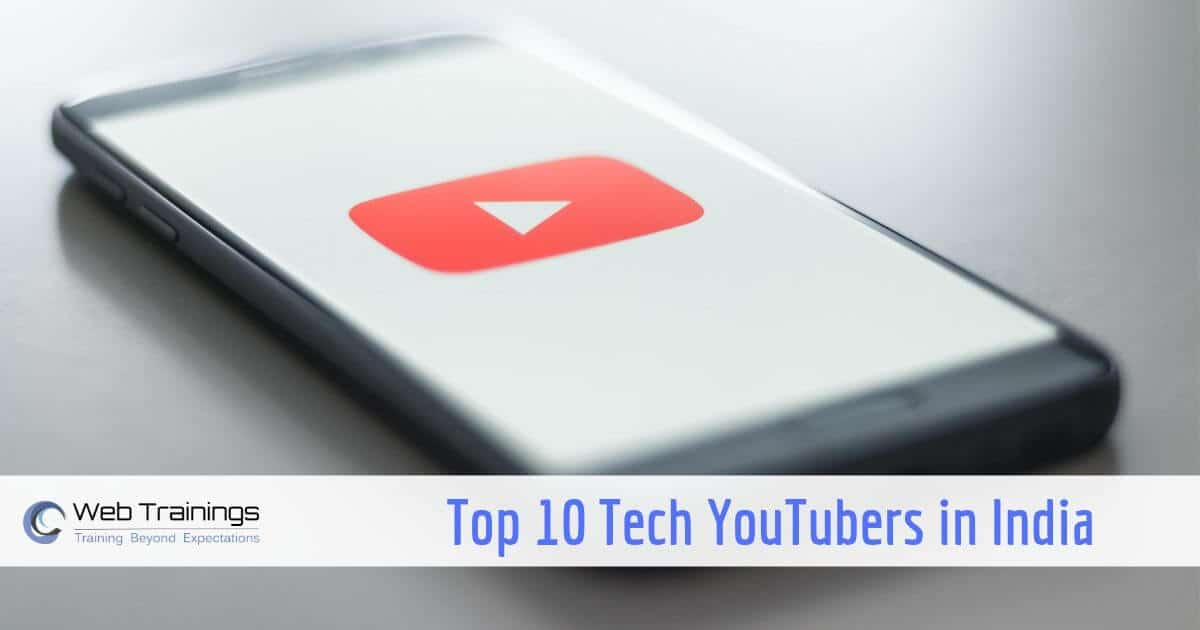 Top Tech YouTubers in India – YouTube Channels [2019]