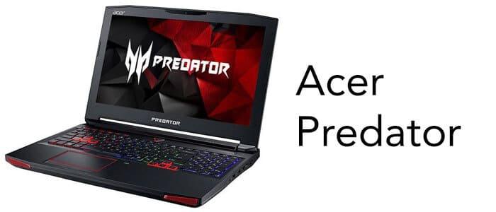acae predator laptops