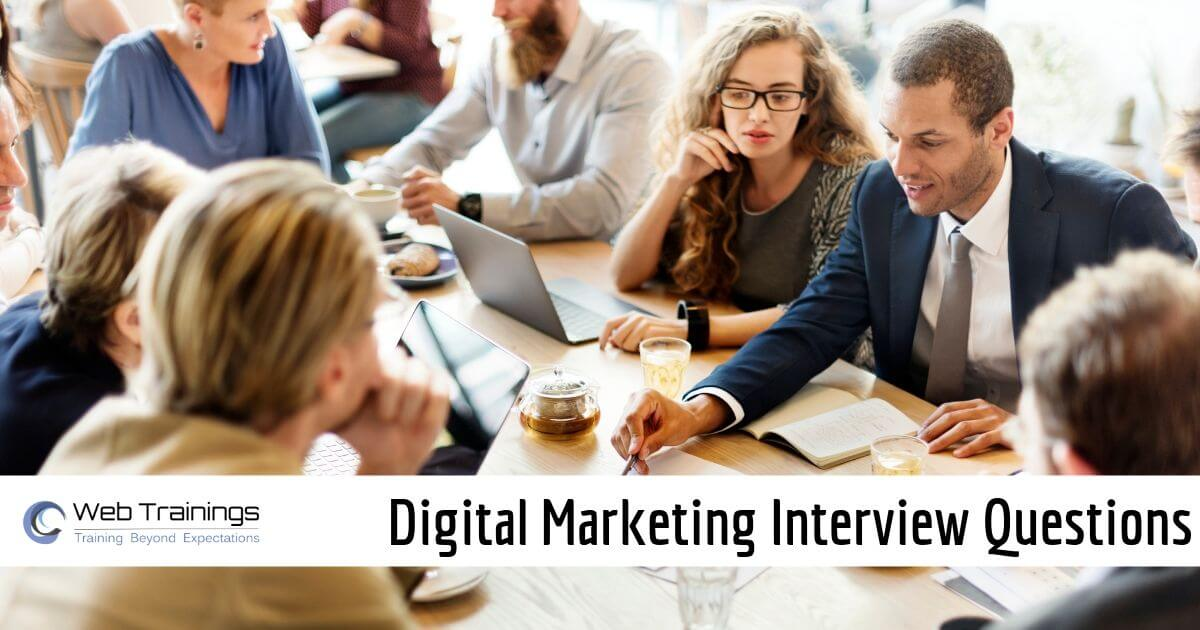 Digital Marketing Interview Questions & Answers 2020