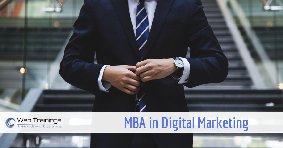 MBA in Digital Marketing in India