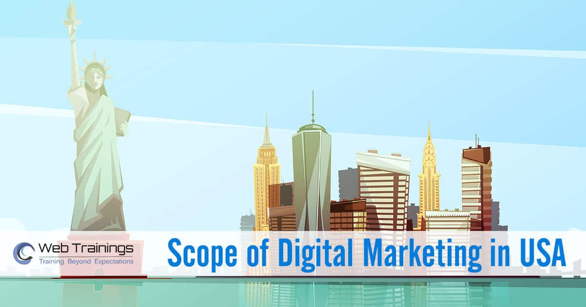 Scope of Digital Marketing in USA [2021]