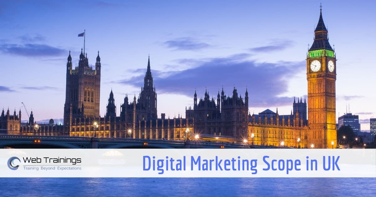 Scope of Digital Marketing in UK