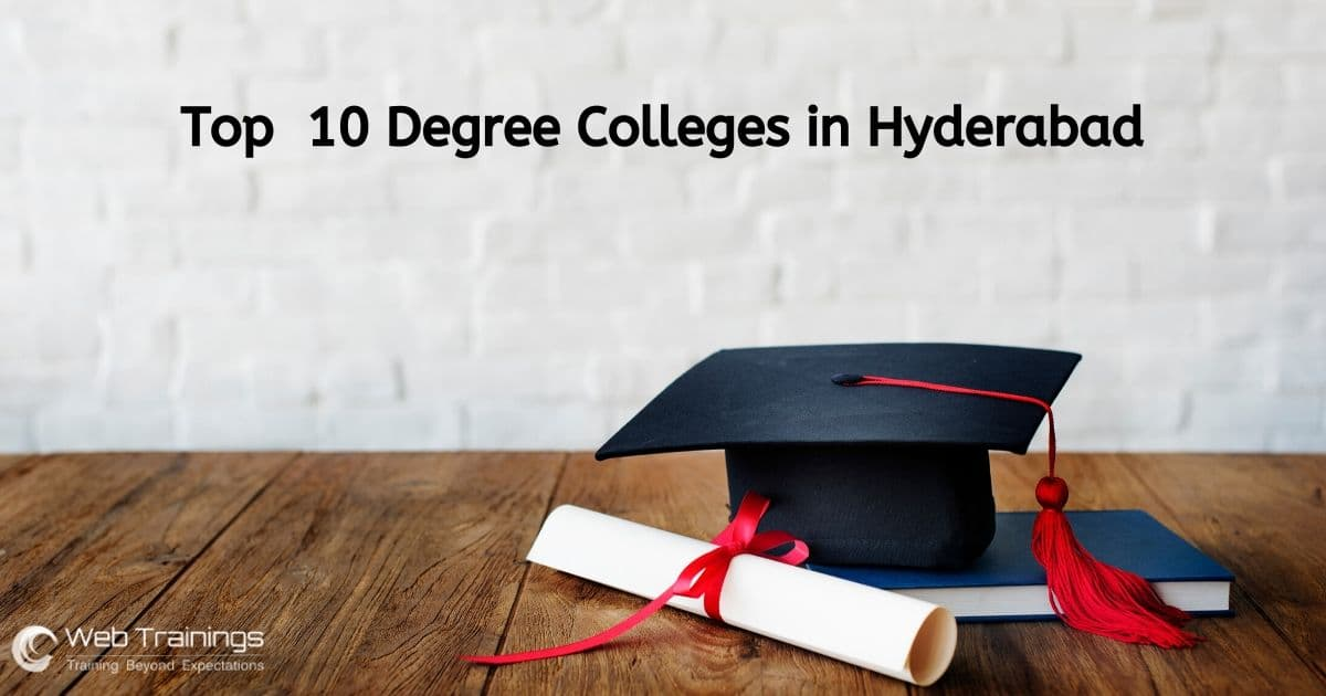 Top 10 Degree Colleges in Hyderabad