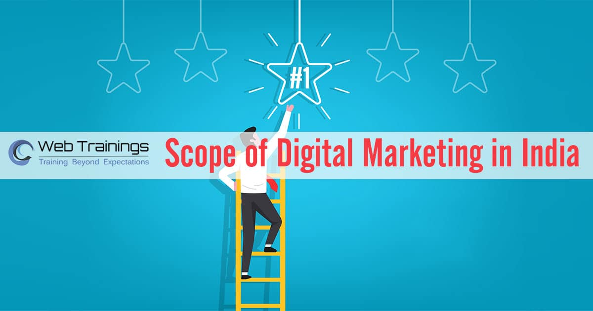 Future Scope of Digital Marketing in India 2021 & Career Opportunities