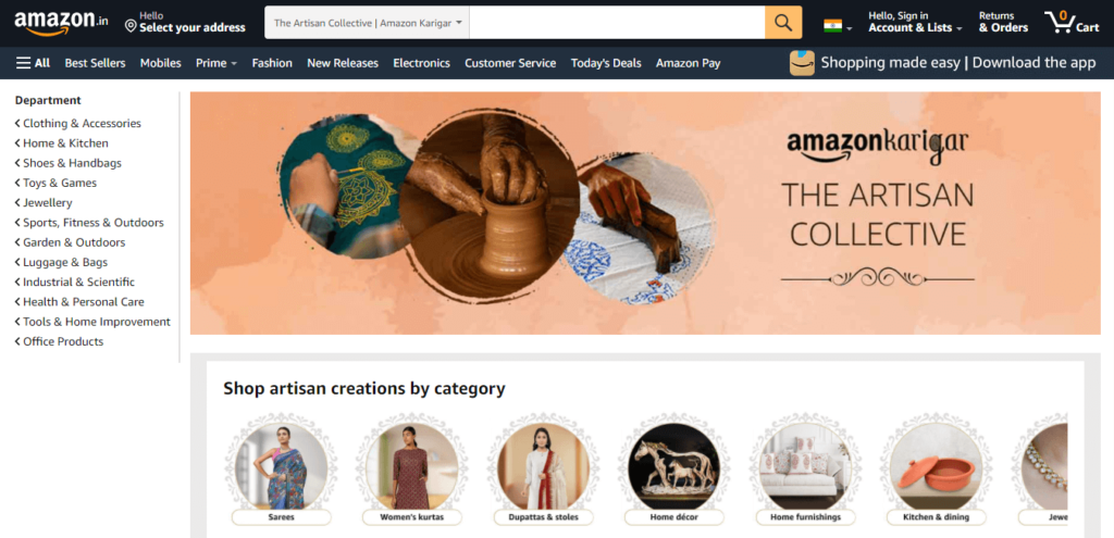amazon product recommendations using AI