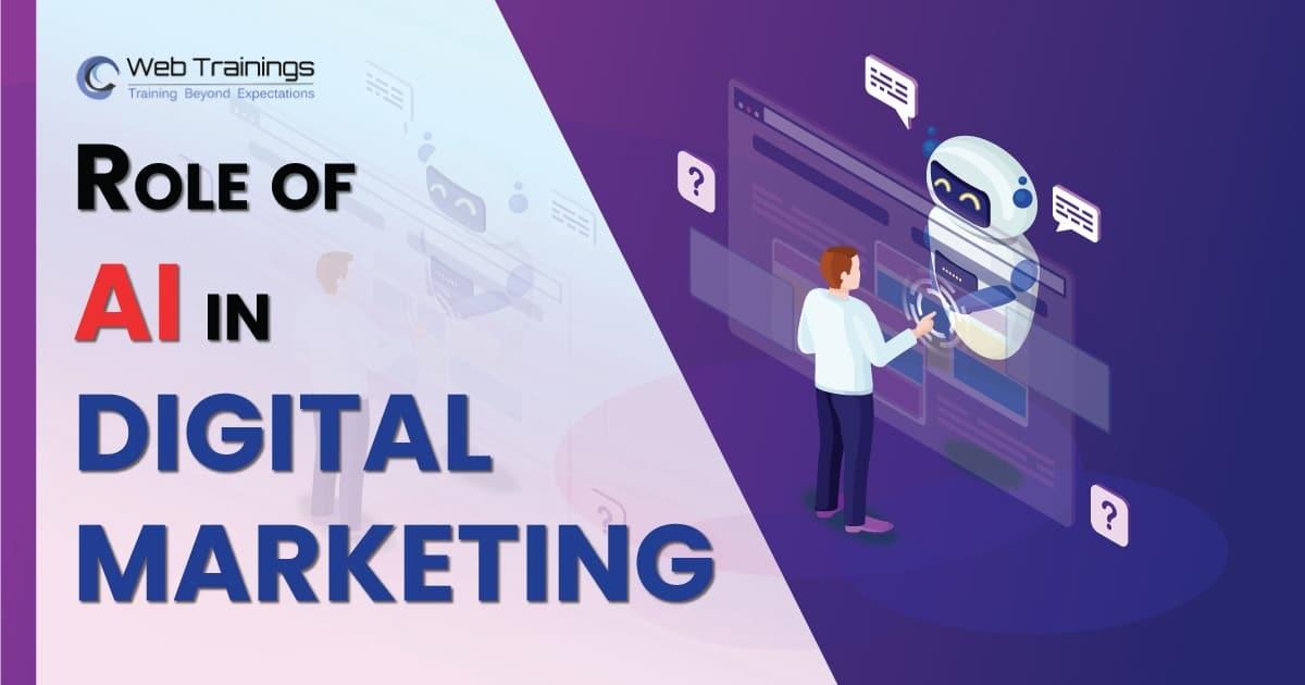 Role of AI in Digital Marketing