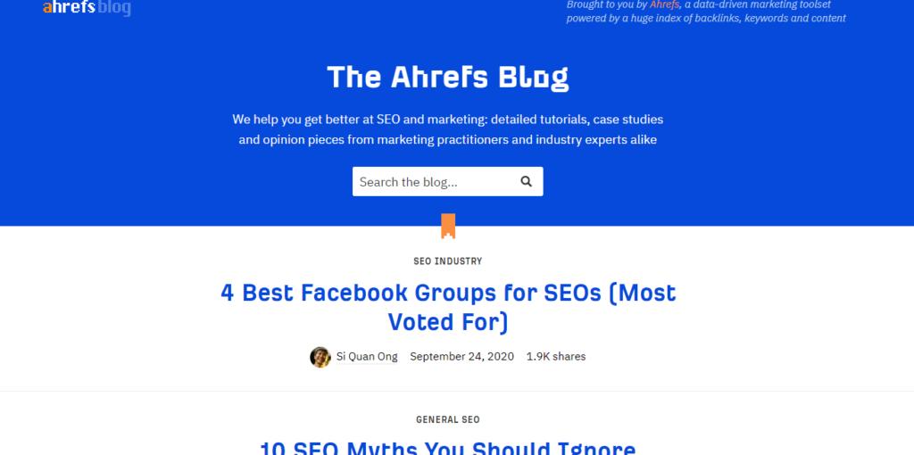 The Ahrefs Blog