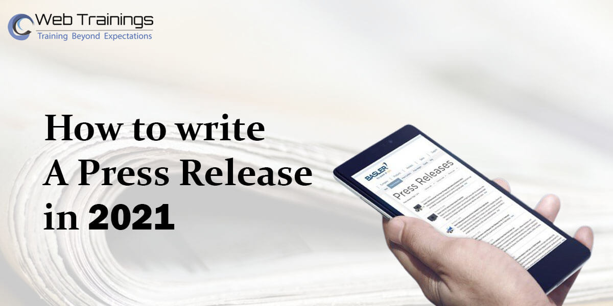 How to Write a Press Release in 2021