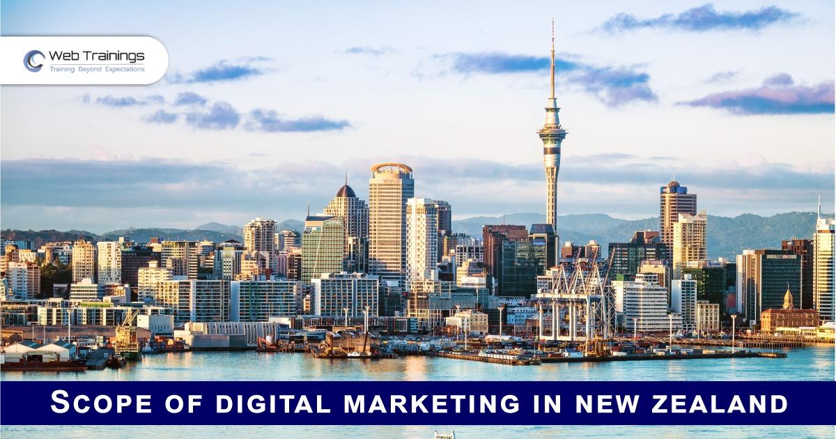Scope of Digital Marketing in New Zealand